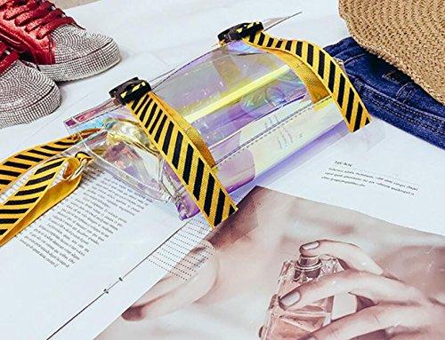 Et Jaune De Style Européenne Sac Le Plage Américaine Meaeo Transparent Sac Simple Sac Lady Yellow Nouveau SHqxYwB6