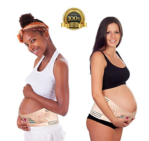 The Happy Mother Belly Support Band For Pregnancy, Large ...