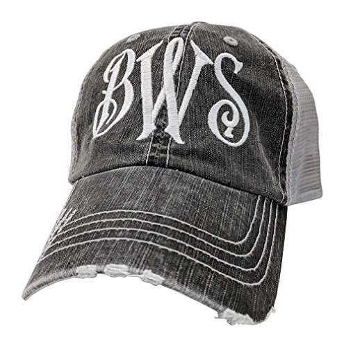 Loaded Lids Women's, Customized, Monogram Embroidered Baseball Cap, Custom Monogrammed - Hat Monogram
