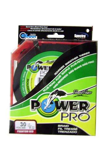 PowerPro PowerPro RED 30lb Test 500yd Spool #210030500R