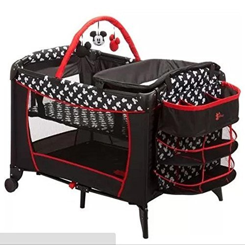 Disney Baby Mickey Mouse Sweet Wonder Play Yard, Mickey Silhouette Py378clv