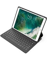 """Inateck Ultraleichte Tastatur Hülle kompatibel mit 10,5"""" iPad Pro und 10.5"""" New iPad Air, Schutzhülle mit Smart Power Schalter, QWERTZ Layout, BK2005"""