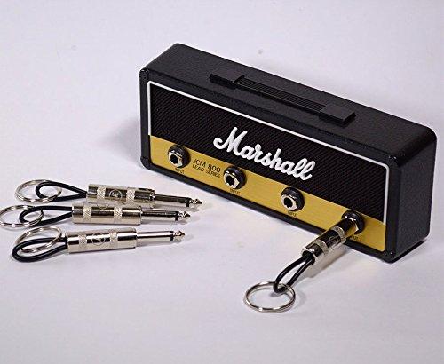 P Pluginz Marshall JCM800 Estándar Jack estante montado en la pared V2.0- amplificador de guitarra titular de la clave Incluye 4 Guitarra Plug ...