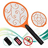 M-GYG Electric Bug Zapper Racket Fly,Fly Swatter Tennis Racket,Mosquito And Bug Swatter,Battery Operated Pest Repeller Moskito Killer,Swat Insect, Wasp