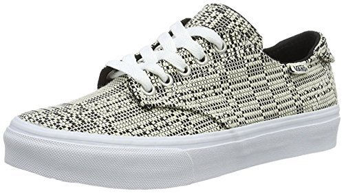 Zapatillas Wm Deluxe Mujer Blanco Vans Camden Negro qtTRg