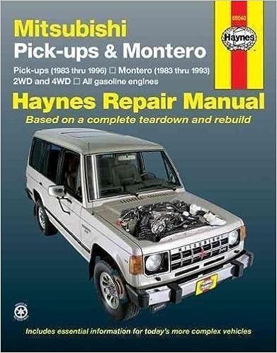 Mitsubishi pickup montero 8396 haynes repair manuals haynes mitsubishi pickup montero 8396 haynes repair manuals 1st edition fandeluxe Gallery