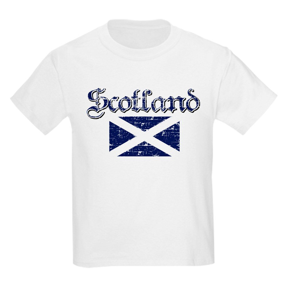 c977e616 Amazon.com: CafePress - Scottish Flag - Kids Cotton T-shirt: Clothing