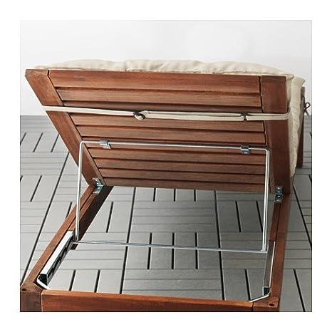 Amazon.com: IKEA HALLO Chaise Pad Beige 202.616.90: Home ...