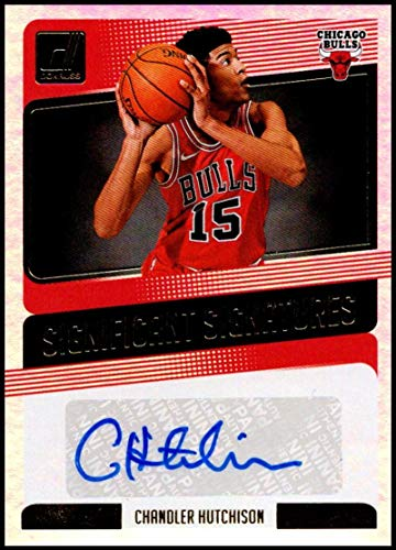 (2018-19 Donruss Significant Signatures #SS-CHS Chandler Hutchison NM-MT Auto Chicago Bulls Official NBA Basketball Card)