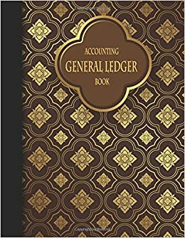 accounting general ledger book blank general ledger paper book