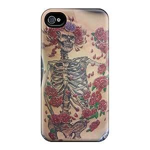 Apple Iphone 4/4s Uge42Bpyv Custom High-definition Grateful Dead Image Protector Hard Cell-phone Case -TrevorBahri