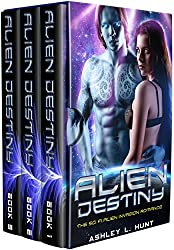 Alien Romance Box Set: Romantic Suspense: Alien Destiny: SciFi Alien Romance Adventure Romantic Suspense Trilogy (Complete Series Box Set Books 1-3) (Alien Adventure Romance Bundle Book 4)
