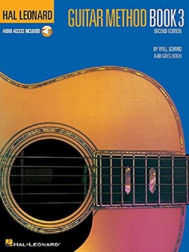 Hal Leonard Guitar Method - Book 3 (Book/Online Audio)