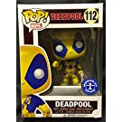 Funko Marvel Deadpool Pop Vinyl Yellow and Blue Suit Exclusive