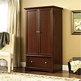 BOWERY HILL Wardrobe Armoire in Cherry