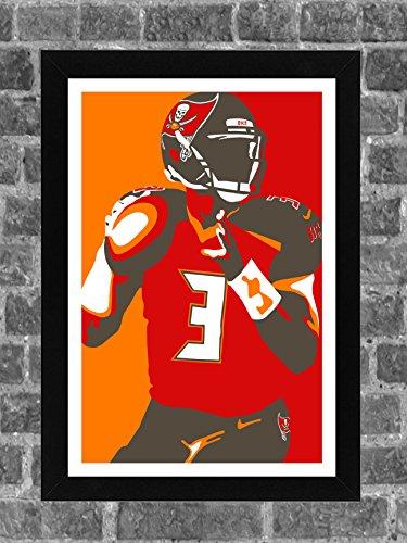 Tampa Bay Buccaneers Jameis Winston Sports Print Art 11x17 ()