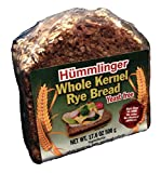 Hummlinger Yeast Free Whole Kernel Rye Bread, GMO FREE 17.6 oz (6 packs)
