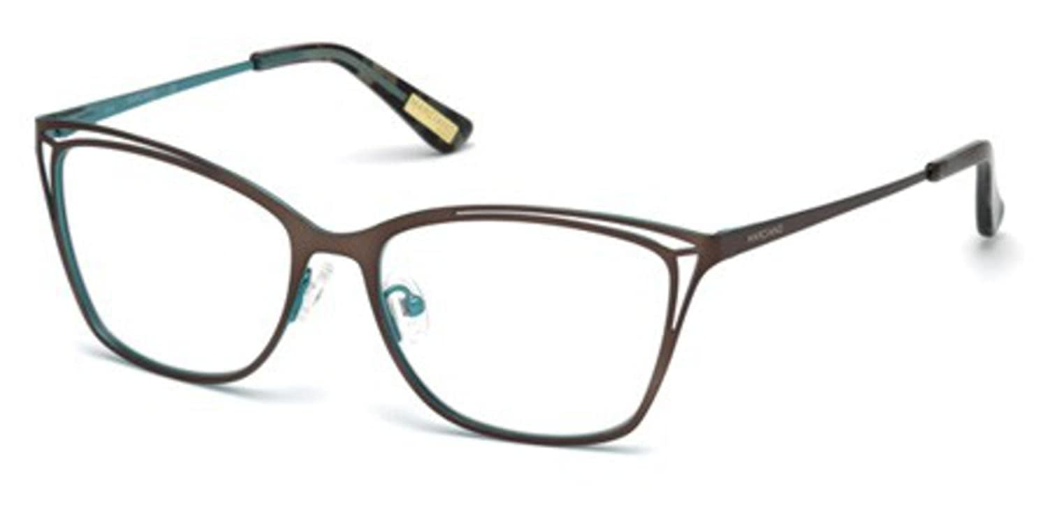 c9721e5604 Eyeglasses Guess By Marciano GM 310 GM 0310 049 matte dark brown at Amazon  Men s Clothing store