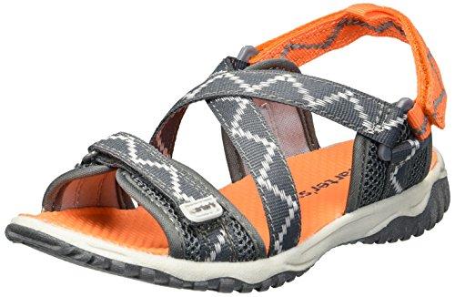 - carter's Baby Splash Boy's and Girl's Athletic Sport Sandal, Grey, 6 M US Toddler