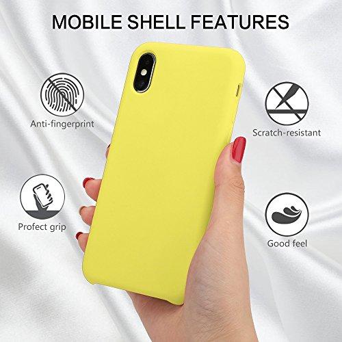 Jaune X Coque Xr De Pour Iphone Housse Mat Apple Xs Souple Tpu En Max Ultra Téléphone Protection Silicone qaTSfq