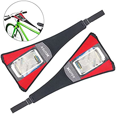 RUNACC - Protector de sudor para bicicleta, elástico, resistente y ...