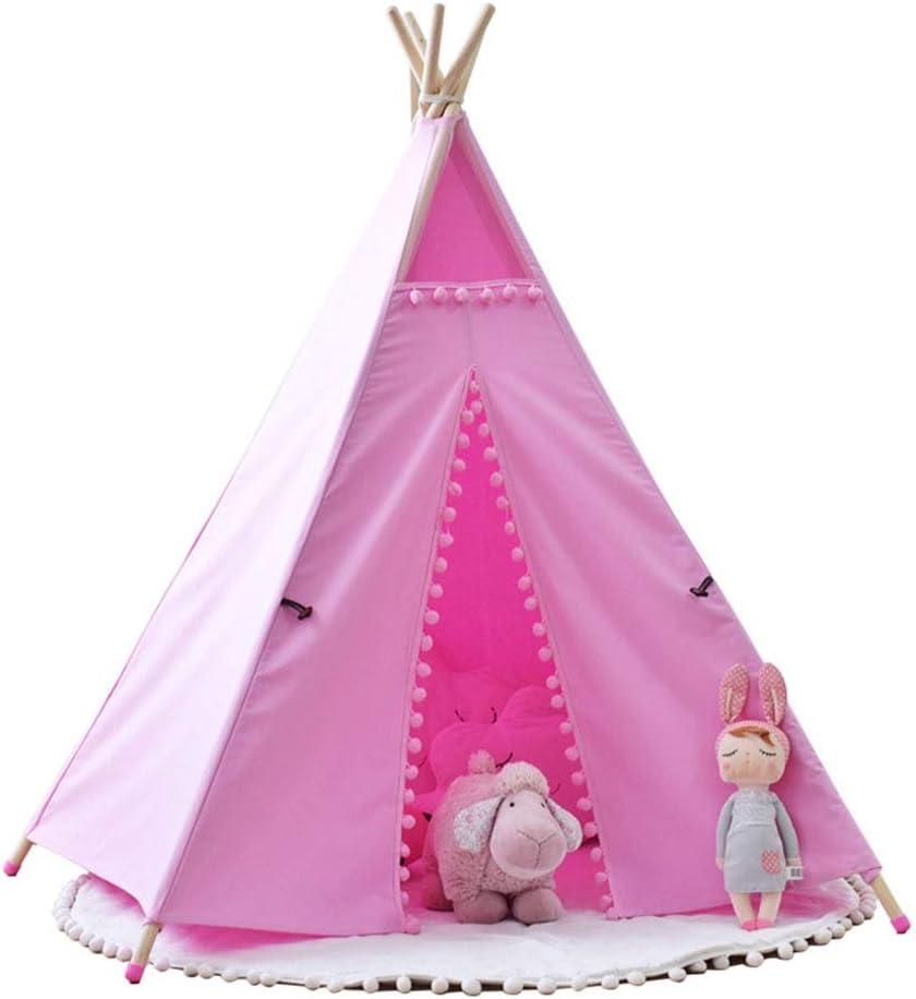 Juguete tienda canadiense Niño de los niños de interior y juegos al aire libre tienda de campaña for los indios norteamericanos lona de los niños del algodón de la India Tipi Playhouse