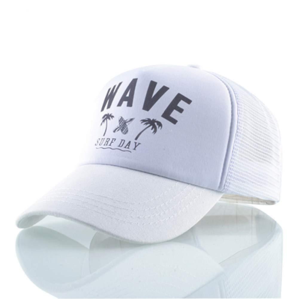RFVTGB Gorra De Béisbol Mujeres Hombres Moda Carta Wave Hat Surf ...