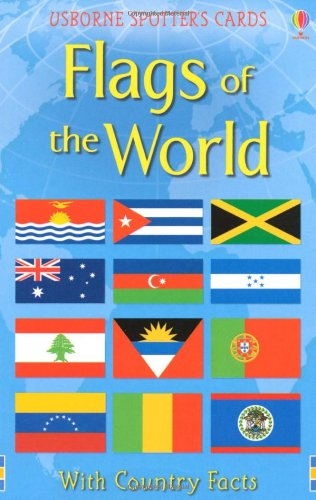 Flags of the World Usborne Spotter's Cards (Spotters Activity Cards)