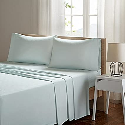 Smart Cool Microfiber Full Size Bed Sheets, Casual Aqua Cooling Sheets,  Cooling Bed Sheets