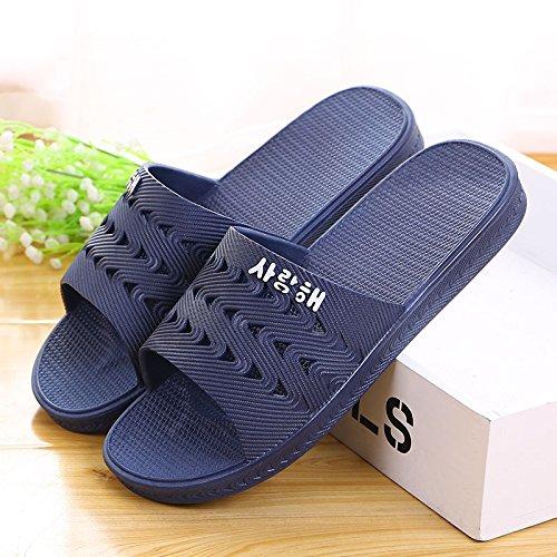 home slippers blue 49 bathroom skid deep anti Summer 7Ed6qd