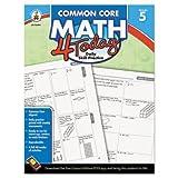 Carson Dellosa Common Core 4 Today Workbook, Math, Grade 5, 96 Pages (CDP104594)
