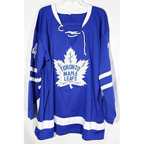 premium selection c5d6a 6f182 Auston Matthews Toronto Maple Leafs Signed Autographed Blue ...