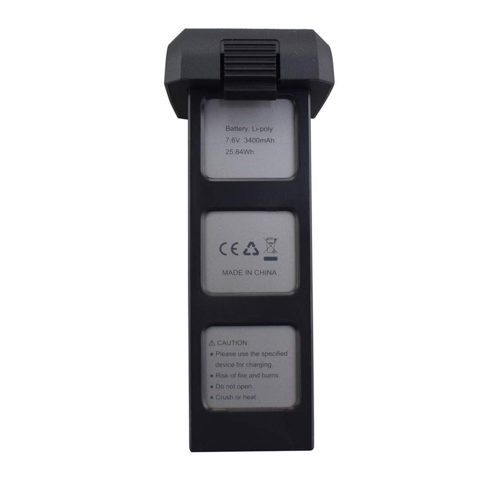 Ocamo Batteria 7,6 V 3400 mah per Potensic D88 JEDER EX3 Holy Stone HS550 MJX B4W JJRC X11