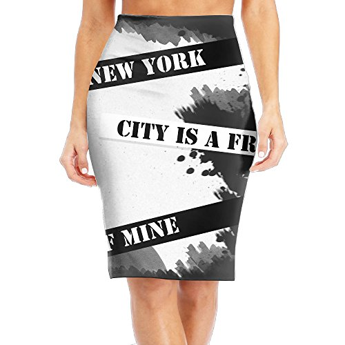 FRICSTAR New York City Is A Friend Of Mine Womens Slim Fit Business Skirt