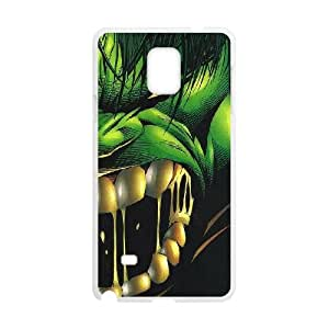 Hulk Samsung Galaxy Note 4 Cell Phone Case White xlb-303413