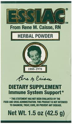 Essiac International Herbal Supplement Powder, 1.5 Ounce