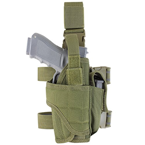 Condor Tornado Tactical Leg Holster (Olive Drab, Fully adjustable) Drop Down Holster