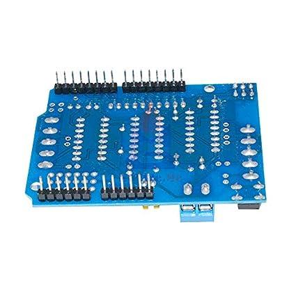 L293D Motor Drive Shield Expansion Board H-Bridge for Arduino MEGA2560 UNO R3