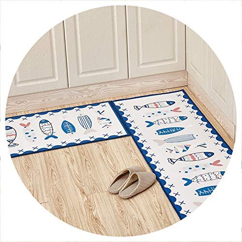 world-palm Long Kitchen Cute Cat Mat Bath Carpet Floor Mat Abstract Home Entrance Doormat Absorbent Bedroom Living Room Mats Kitchen Rug,color21,40x60cm and 40x120cm