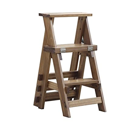 Prime Amazon Com 3 Step Climbing High Stools Solid Wood Dual Use Unemploymentrelief Wooden Chair Designs For Living Room Unemploymentrelieforg
