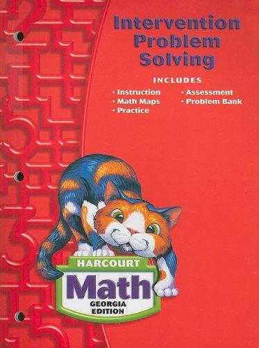 (Harcourt School Publishers Math Georgia: Intrvn Prob Slvng Se Gr2)