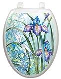 Toilet Tattoos TT-1014-O Iris Beauty Decorative