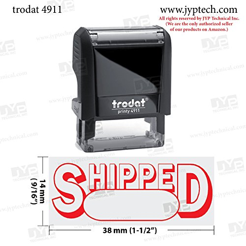 SHIPPED Office Stock Self-Inking Rubber Stamp
