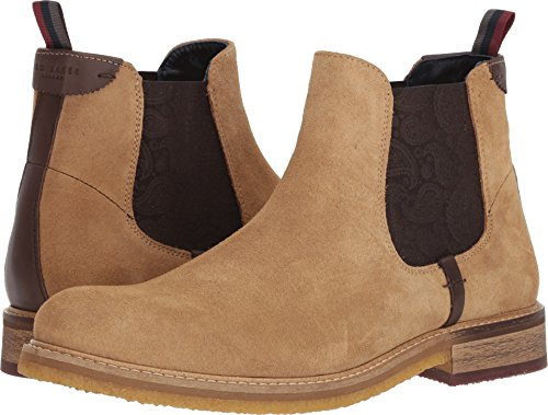 Ted Baker Uomo Bronzo Chelsea Boot Sand Suede