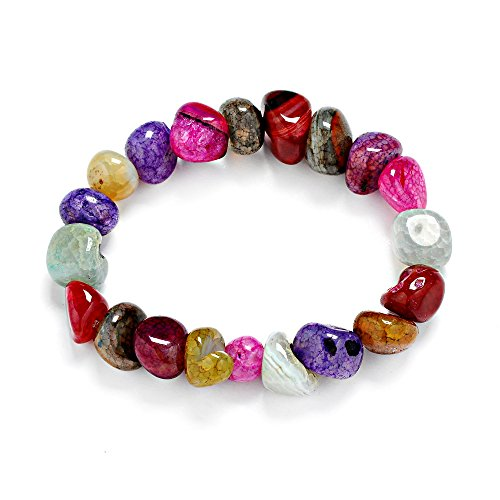ice-crack-popcorn-and-natural-with-tumbled-amorphous-color-agate-bracelet