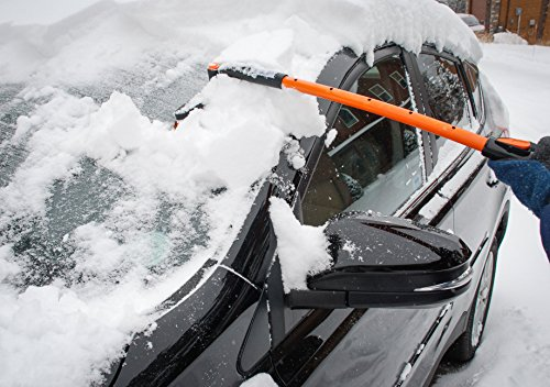 Snow Moover Extendable 50 Quot Car Brush And Ice Scraper With