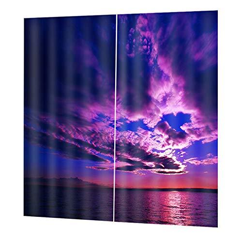 - Lovescenario DZGT030 Classic Washable Printing Curtain Door Curtains Home Bedroom Living Room Curtain Hotel Decorative Curtain 140100cm