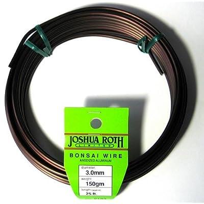Joshua Roth Bonsai Wire, 3.0mm, 150 gm: Garden & Outdoor
