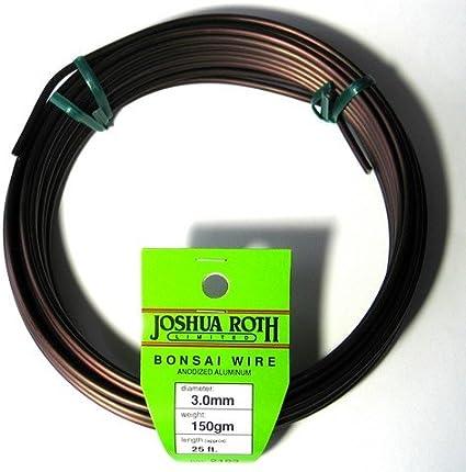 Amazon Com Joshua Roth Bonsai Wire 3 0mm 150 Gm Garden Outdoor