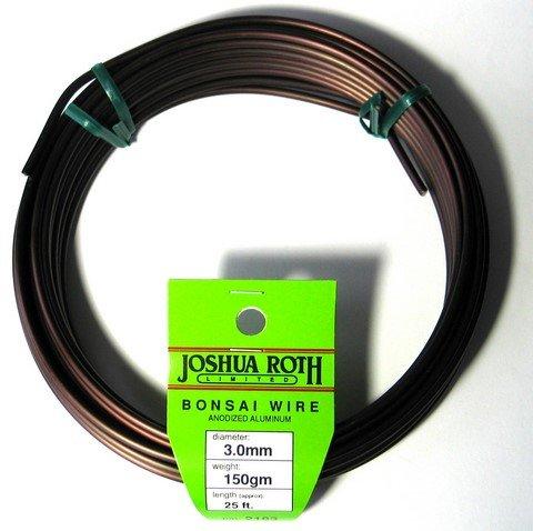 (Joshua Roth Bonsai Wire, 3.0mm, 150 gm)